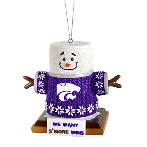 Forever Collectibles NCAA Kansas State Wildcats Kansas State Smores Ornament