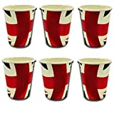 Union Jack Paper Cups - Pack Of 20 from PMS