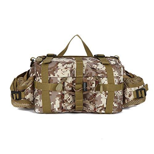 ZLL Armée en plein air fan pack sport selle sac multifonctions portable sac banane poitrine de Sac Messenger Pack