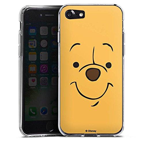 Apple iPhone X Silikon Hülle Case Schutzhülle Disney Winnie Puuh Face Geschenke Merchandise Silikon Case transparent