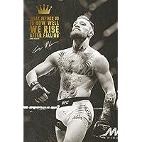 30,5x 20,3cm (A4) Großer Conor McGregor vorab signierter Fotodruck Nr. 5 –Hervorragende Qualität
