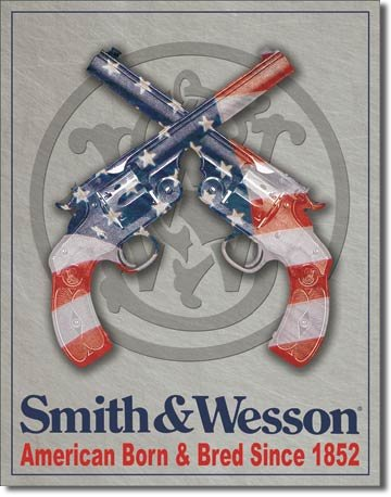 smith-wesson-american-born-plaque-en-metal