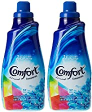 Comfort Concentrated Fabric Softener Iris & Jasmine, 1.5L (Pack o