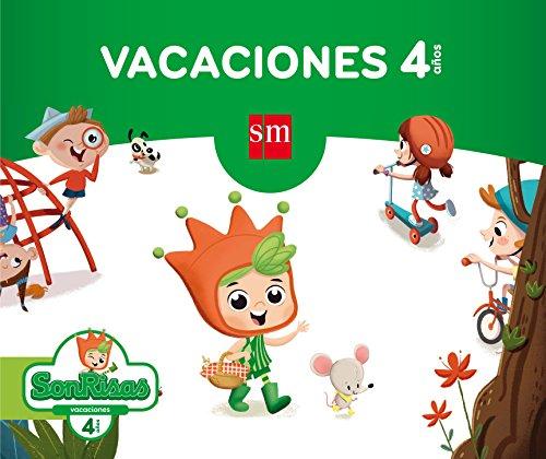 Vacaciones. Sonrisas. 4 años - 9788467592429