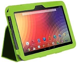 CaseCrown Bold Standby Étui (Vert) pour Google Nexus 10 (réveille et redresse)