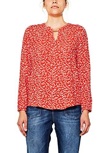 edc by Esprit, Camicia Donna Multicolore (Red 630)