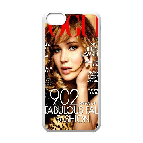 LP-LG Phone Case Of Jennifer Lawrence For Iphone 5C [Pattern-6] Pattern-6