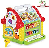 #4: Magicwand® Musical Learning House for Toddlers with Lights & Sound