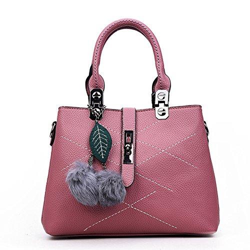 XY Fancy, Borsa a mano donna rosso rot, grau (grigio) - RH#BB1215-0838-BB29 rosa
