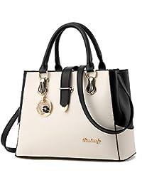 4ebc8e7ba904e7 IMBETTUY neue schwarze und weiße Mode-Stil Handtasche lässig Umhängetasche  Querkörperarbeit…