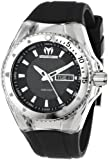 Technomarine Men's Chronograph Watch 110042 with Black Dial and Black strap