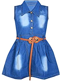 18efdf1563 Denim Baby Girls  Dresses   Jumpsuits  Buy Denim Baby Girls  Dresses ...