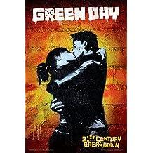 Bravado Green Day Kiss 18 X 24 inches Medium Poster