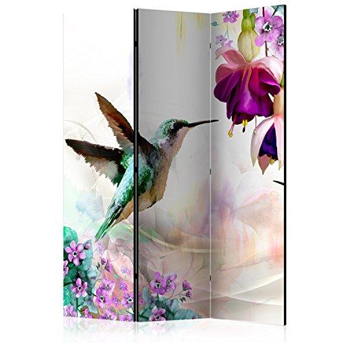 murando - Biombo con Tablero de Corcho - Foto Biombo – Naturaleza Flores 135x172 cm - de impresión Bilateral - Lienzo de TNT Foto Biombo Decorativo para Interiores b-C-0188-z-b