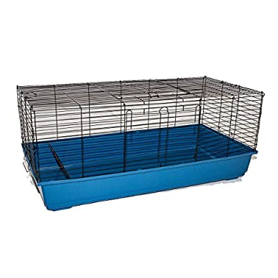 Marko Pet Accessories Rabbit Cage Guinea Pig Hutch Indoor Pet Small Animal House Home Bunny Pen from Marko