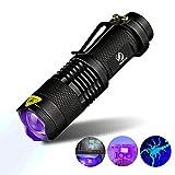 ToomLight UV-Taschenlampe Taschenlampe Ultraviolettes Licht Blacklight UV-Lampe Haustiere Urin- und Fleckendetektor auf Kleideteppich Teppichen