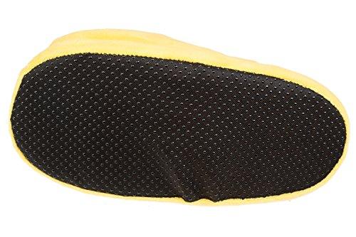 GIBRA® Emoji Pantoffeln Hausschuhe Küsschen, gelb, Gr. 37/38 - 41/42 Gelb