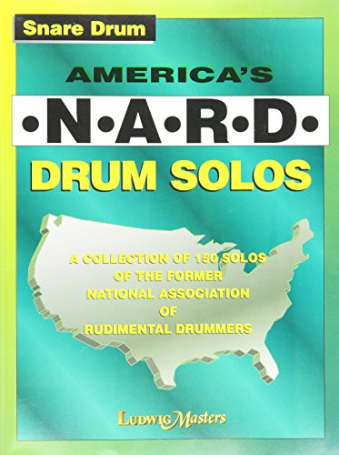 America's N.A.R.D. Drum Solos - Snare Drum - Book for sale  Delivered anywhere in UK