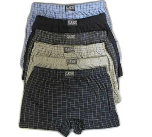 6 Pairs Mens Boxers 3XL