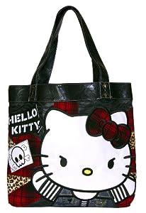 Hello Kitty - Bolso de tela de material sintético para mujer multicoloured