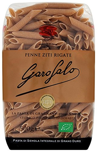 Garofalo Whole Wheat Organic Penne 500g (Pack of 4)