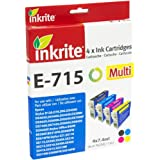 Inkrite Ink 4 Col Pack for D78 D92 D120 DX4000 DX5000 DX6000 - T071540 (Leopard)