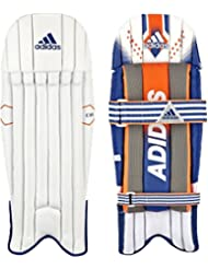 Adidas Sports CX11Wicket Keeper Cricket jambe protection Coussinets pour homme Blanc