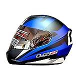 LS2 FF352 DYNO Full Face Helmet (Blue, L)