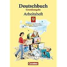 Deutschbuch, Grundausgabe, neue Rechtschreibung, 9. Schuljahr: Arbeitsheft