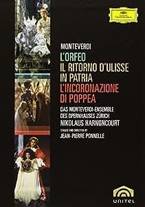 Monteverdi, Claudio - Monteverdi Box [5 DVDs]