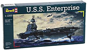 Revell - revell-05801 - Maquette - U.S.S. Enterprise (WWII) - 38 pieces
