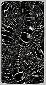 Timpax protective Armor Hard Bumper Back Case Cover. Multicolor printed on 3 Dimensional case with latest & finest graphic design art. Compatible with only One Plus One. Design No :TDZ-20953