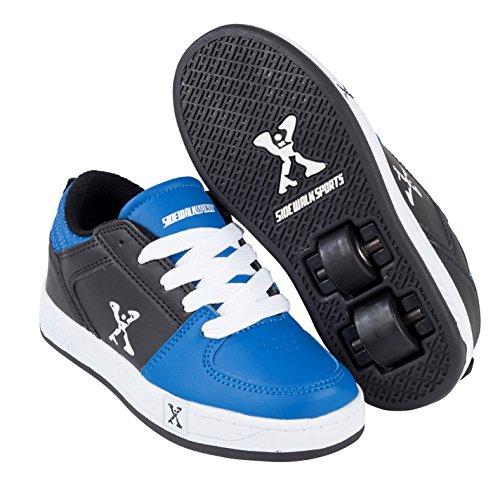 Sidewalk Sport Street Kinder Rollen Schuhe Sneaker Rollschuhe Turnschuhe Black/Blue