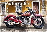 Motorräder & Routen 2019 - Broschürenkalender - mit Schulferientabelle - Format 42 x 29 cm