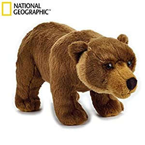 Venturelli The Nat Geo Basic Collection Oso Grizzly Animal Bosque peluc 570,, 8004332708452