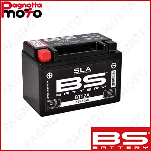 BATTERIA BS BATTERY BT12A = YT12A KYMCO DOWNTOWN I ABS 350 2015>2015