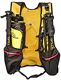 La Sportiva Sky Vest, Mochila Unisex Adulto, Multicolor (Black/Yellow),
