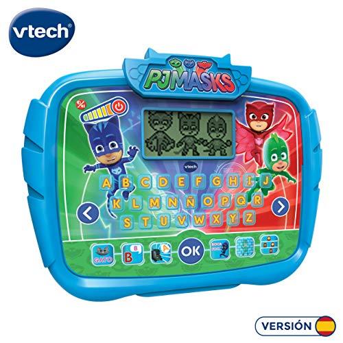 VTech Alfabeto Juegos, aprende Las Letras abecedario Interactivo PJ Masks con Actividades para Aprender (3480-175922)