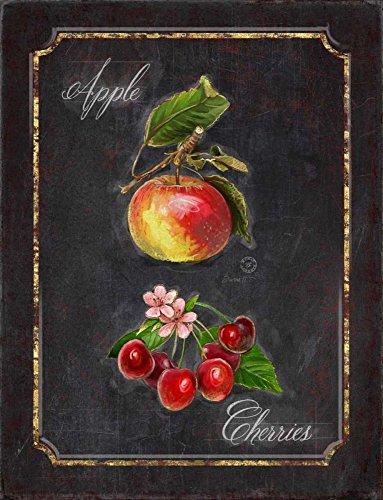 The Poster Corp Chad Barrett - Heritage Cherries Kunstdruck (45,72 x 60,96 cm) -
