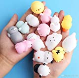Party Propz Squeeze Stress Reliever Squishy Toys for Kids and Adults Pack of 8