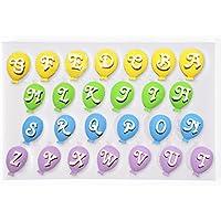 SurePromise One Stop Solution for Sourcing Alfabeto Carta Globo temáticas de Silicona Fondant Molde Pasta de