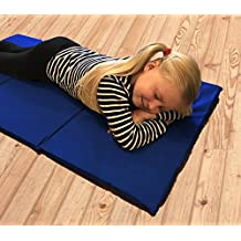 8x Triple Folding Nursery Sleep Mats for Kids, Children & Toddlers, Ideal for Childminders or Camping