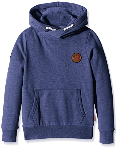 TOM TAILOR Kids Jungen Kapuzenpullover hoody cool/510, Gr. 128, Blau (dutch blue 6339)