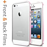 Spigen SGP Neo Hybrid EX Snow Series SGP09531 Schutzhülle für iPhone 5, Sherbet Pink (Rosa)