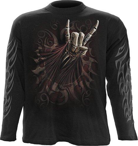 Spiral -  T-shirt - Uomo Nero - Nero Medium