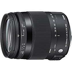 Sigma Objectif Macro 18-200 mm F3,5-6,3 DC OS HSM Contemporary - Monture Nikon