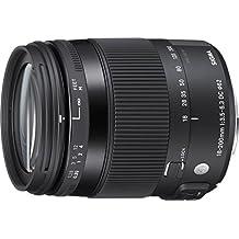 Sigma 885955 - Objetivo para Nikon (distancia focal 18-200mm, estabilizador de imagen) negro