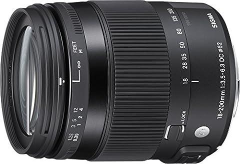 Sigma Contemporary, 18-200mm F3.5-6.3 DC MACRO HSM Objectif