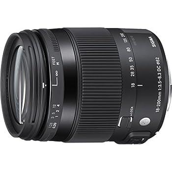 Sigma 18-200mm F3,5-6,3 DC Makro OS HSM Contemporary Objektiv (Filtergewinde 62mm) für Canon Objektivbajonett