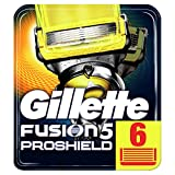 Gillette Fusion Proshield Flexball Regular Men's Razor Blades – Pack of 6